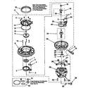 Kenmore 66517765890 pump and motor diagram