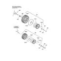 Craftsman 107250050 wheels & tires diagram