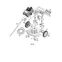 Westinghouse WP2500 frame diagram