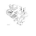 Poulan 96042016700 seat diagram