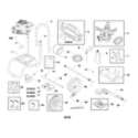 Briggs & Stratton 021020-00 main unit diagram