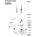 ICP N2A336AKA200 refrigeration components diagram