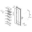 Bosch B22CS50SNB/01 refrig door diagram