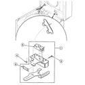 Speed Queen SWT920QN lid switch diagram