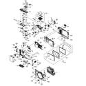 Panasonic DMC-GF2CBODY cabinet parts diagram