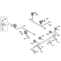 Bosch HGS7052UC/06 burners assy diagram