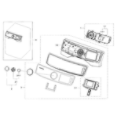 Samsung DV45H6300EW/A3-00 control panel diagram