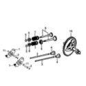 Generac 006023-0 rocker & camshaft diagram