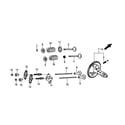 Generac GP5500-5939-5 rocker and camshaft diagram