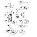 Samsung RF24J9960S4/AA-01 fridge diagram