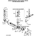 Hotpoint HDA467K-02 motor-pump diagram