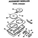 GE JP671B9K2 null diagram