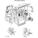 GE ACB668DJCST1 replacement parts/comp.(acb788djsd1, acb588daalq1) diagram