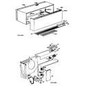 GE A2B569ESASSA cabinet diagram