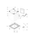LG WT1101CW/00 out case parts diagram