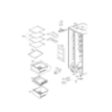 LG LSXS26326S/00 refrigerator compartment parts diagram