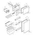 LG LTNC11121V/00 door parts, refrigerator and freezer parts diagram
