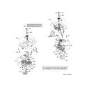GE GUD27ESSJ0WW motor & drive assembly diagram