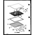 Amana C15B1/P7398043W lid assembly diagram