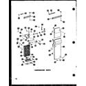 Amana SD25W-AG-P60340-51WG evaporator parts (sr25w-c/p60340-43wc) (sr25w/p60340-43w) (sr25w-ag/p60340-43wg) (sr25w-a/p60340-43wa) (sd25w-c/p60340-51wc) (sd25w/p60340-51w) (sd25w-ag/p60340-51wg) (sd25w-a/p60340-51wa) (sr22w-ag/p60340-45wg) (sr22w/p60340-45w) (sr22w-a/p60340-45wa) (s diagram
