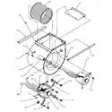 Amana BHA30FA002A/P1180303C blower assembly diagram