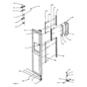 Amana LW6111LB/PLW6111LB agitator, drive bell, seal kit, washtub and hub (cw9203w2/pcw9203w2) (cw9203w3/pcw9203w3) (lw2001w2/plw2001w2) (lw2501l2/plw2501l2) (lw2501w2/plw2501w2) (lw3502l2/plw3502l2) (lw3502w2/plw3502w2) (lw3503l2/plw3503l2) (lw3503w2/plw3503w2) (lw6101wb/plw6101w diagram