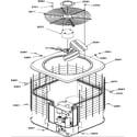 Amana RCC36A3B/P1172422C condenser motor diagram