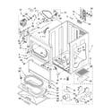 Kenmore 11064892401 cabinet parts diagram