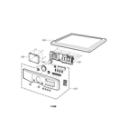 LG DLE5977S control panel and plate diagram