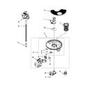 Kenmore 66515033K112 pump and motor parts diagram
