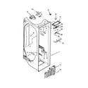 Kenmore Elite 10654789801 refrigerator liner parts diagram