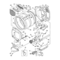 Kenmore 11068722700 bulkhead parts, optional parts (not included) diagram