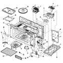 Maytag MMV5207ACQ cavity diagram