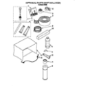 Whirlpool R243B optional parts (not included) diagram