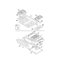 Kenmore 79075924301 top/drawer diagram