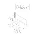 White-Westinghouse WFC20M4BW4 system diagram