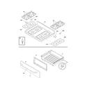 Kenmore 79078573407 top/drawer diagram