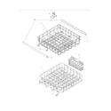 Frigidaire FFBD2406NB0A racks diagram