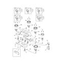 Kenmore 79032433902 burner diagram