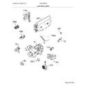 Frigidaire FPID2498SF5A electrical parts diagram