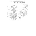 Whirlpool GSC308PJS3 internal oven diagram