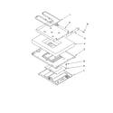 Whirlpool WLP34200 hidden bake parts, miscellaneous parts diagram