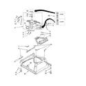 Maytag MVWC500VW0 machine base parts diagram