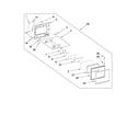KitchenAid YKHMS2050SS1 door parts diagram