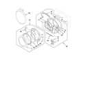 Whirlpool WGD9450WR2 door parts diagram