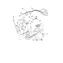 Amana ASD2522WRW03 control parts diagram