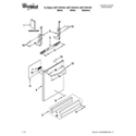Whirlpool WDT710PAYW1 door and panel parts diagram