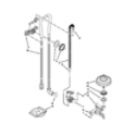 KitchenAid KDTE204ESS0 fill, drain and overfill parts diagram