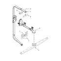 KitchenAid KDTE204ESS0 upper wash and rinse parts diagram