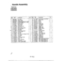 MTD 315E640F000 handle assembly page 2 diagram